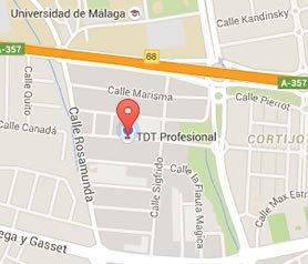 TDTprofesional Mapa
